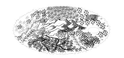 琉璃天第一纪元大致地图